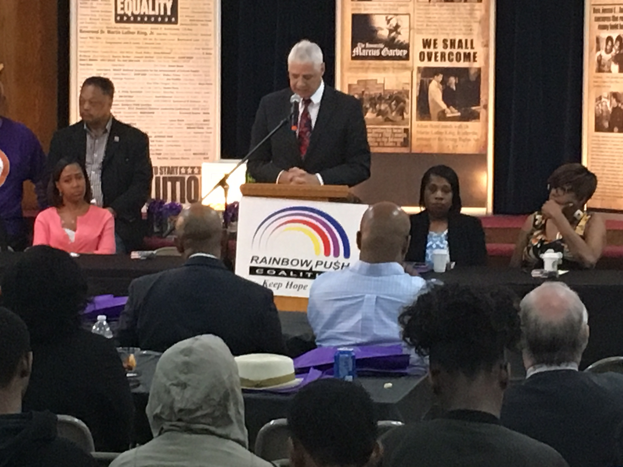 Committeeman Pedersen at the 15th Annual African American Contractors Day
